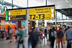 שדה התעופה - תורים - תרגיל בסבלנות