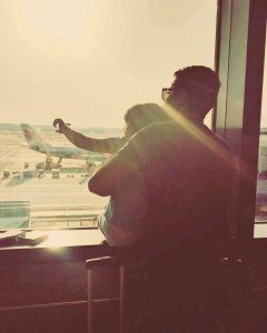 הטיסה קרבה - לטוס עם ילדים